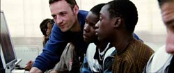 SONY PICTURES CLASSICS - HELPING HAND: François Bégaudeau tries to aid his students in The Class.