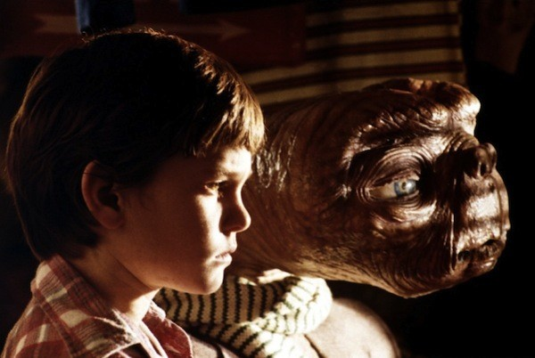 Henry Thomas and friend in E.T. The Extra-Terrestrial (Photo: Universal)