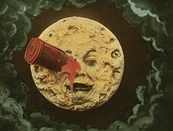 FLICKER ALLEY - HERE'S BLOOD IN YOUR EYE: A Trip to the Moon