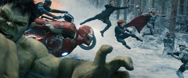 Heroes aren't hard to find in Avengers: Age of Ultron (Photo: Disney & Marvel)