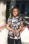 <p>HEY DJ: Jacinda Garabito, host of WGIV's <i>Just Jacinda</i> show</p>