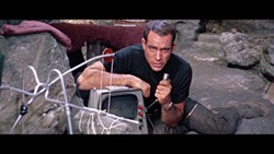 COURTESY OF THE CRITERION COLLECTION - HIGH-TECH HERO: Commander Kit Draper (Paul Mantee) proves to be resourceful in Robinson Crusoe on Mars