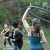 Hooping gains momentum as fitness method, art form