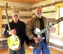 Hot Tuna's Jorma Kaukonen (right) and Jack Casady - first played together in the 1950s