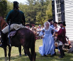 Huck's Defeat and the Revolution in the SC Backcountry will be presented Friday through Sunday at Historic Brattonsville.