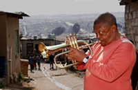 Hugh Masekela playing McGlohon Theater tonight (4/7/13)