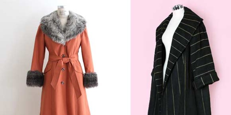 I don't know of either of these vintage pieces are at HK, but hey, a girl can dream!