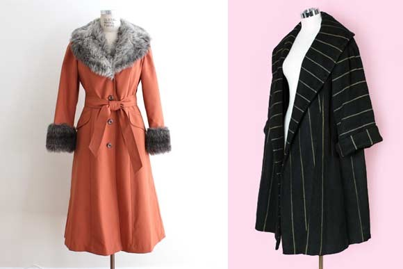 Coats on sale at Hong Kong Vintage   Klepto Blog