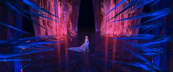 ICE CASTLES: Elsa leads a chilly existence in Frozen. (Photo: Disney)