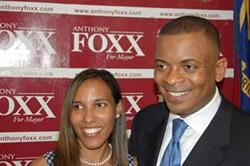 ANTHONYFOXX.COM - IF IT WASN'T FOR TONY: Charlotte Mayor-elect Anthony Foxx and his wife, Samara