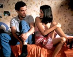 JEROME PLON/FOX SEARCHLIGHTJEROME PLON/FOX SEARCHLIGHT - IF THE SHOE FITS Romain Duris chooses college - abroad over girlfriend Audrey Tautou in L'Auberge - Espagnole