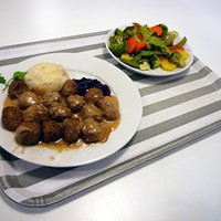 Free food for students at Ikea