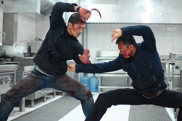 Iko Uwais and Cecep Arif Rahman in The Raid 2. (Photo: Sony Pictures Classics)