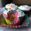 Psychedelic Cupcakes
