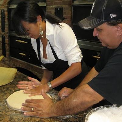 Pizza making, 6/30/10