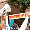 Immigrant activists show 'No Fear' during Wednesday protest
