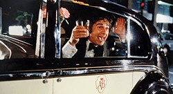 WARNER BROS. - IN THE SPIRITS: Dudley Moore enjoys his alcohol in Arthur.