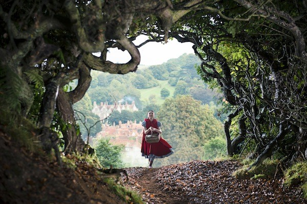 Into the Woods Red Riding Hood hurries to her grandmas house to catch Charlotte Talks