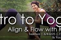 Intro to Yoga: Align & Flow with Kellie Jackson Daniel