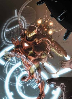 IRON-CLAD CREATOR: Iron Man is just one of the many comic books written by former comic shop employee Matt Fraction; he'll be a guest at this year's HeroesCon.