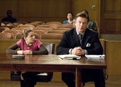 SIDNEY BALDWIN / NEW LINE - IRRECONCILABLE DIFFERENCES: Attorney Campbell Alexander (Alec Baldwin) helps Anna Fitzgerald (Abigail Breslin) sue her parents in My Sister's Keeper.