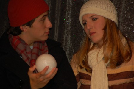 Isaac Josephthal and Kathryn Jeffords in Almost, Maine; Photo by Cindy Rice