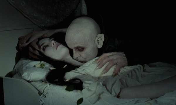 Isabelle Adjani and Klaus Kinski in Nosferatu: The Vampyre (Photo: Shout! Factory)