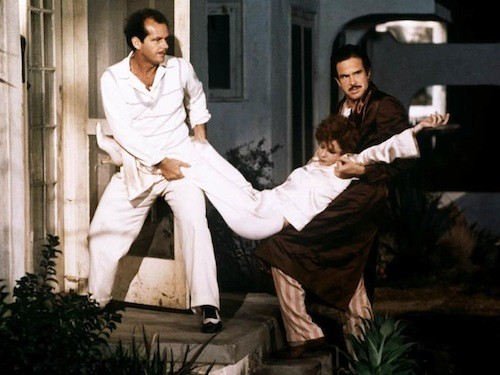 Jack Nicholson, Stockard Channing and Warren Beatty in The Fortune (Photo: Twilight Time)