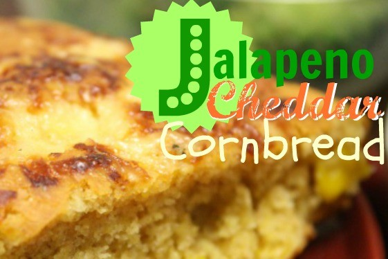 Jalapeño Cheddar Cornbread