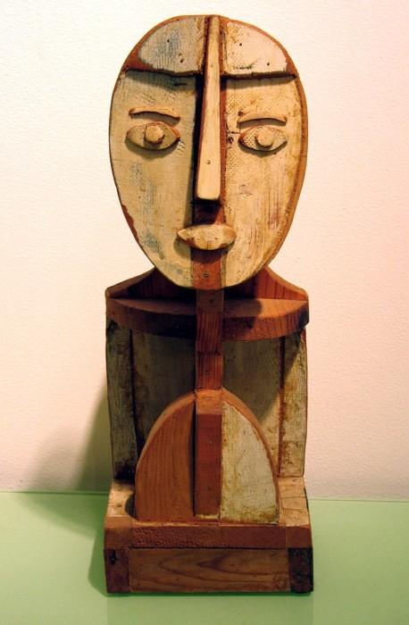 """James Clark, """"Head, Broken Head Style"""""""