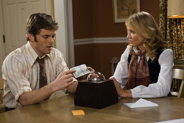 James Marsden and Cameron Diaz in The Box