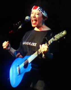 Janis Ian at the Great Aunt Stella Center Tuesday - evening, with a noon performance at Manifest Discs & - Tapes