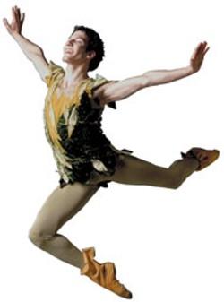 VAN MILLER - Jason Jacobs in NCDT's production of Peter - Pan