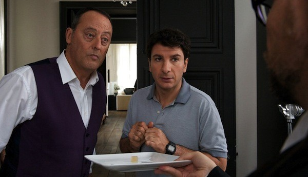 Jean Reno and Michaël Youn in Le Chef - COHEN MEDIA GROUP