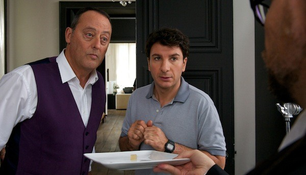 Jean Reno and Michael Youn in Le Chef