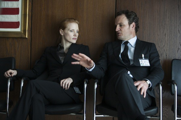 Jessica Chastain and Jason Clarke in Zero Dark Thirty (Photo: Sony)