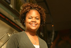 JASSIATIC - Jessica Davis, grassroots marketing coordinator for the Charlotte Bobcats