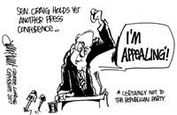 Sen. Craig's Appeal Factor