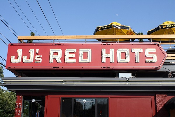 JJs Red Hots on East Blvd.