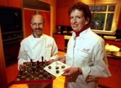 RADOK - Joal Fischer and Debbie Langsam of BARKING DOG - CHOCOLATIERS