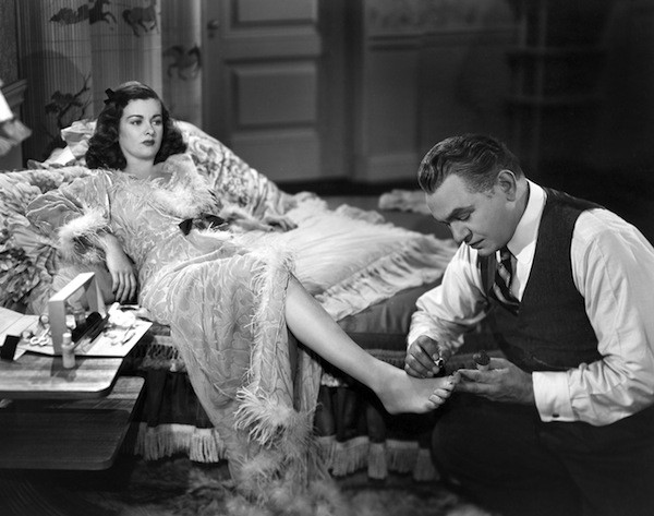Joan Bennett and Edward G. Robinson in Scarlet Street.