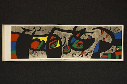 Joan Miró, Le lézard aux plumes d'or, artist book, 1971 © 2013 Successió Miró / Artists Rights Society (ARS), New York / ADAGP, Paris