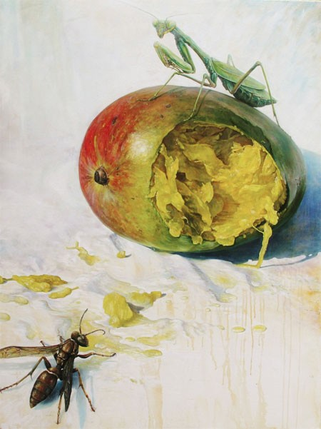 Joe Clayton Helms' 'Mango and Mantis'