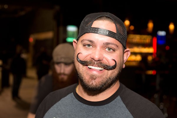 Joey 'Handlebars' Delgrosso at a recent BMCofNC meeting - MERT JONES