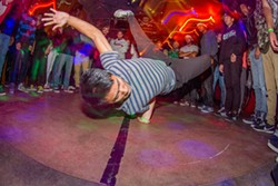BRIAN TWITTY - John BBoy Element Thao battles during Knocturnal at Snug Harbor