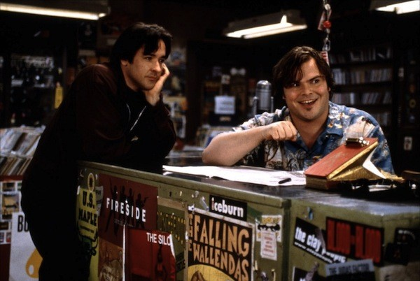 John Cusack and Jack Black in High Fidelity (Photo: Disney)
