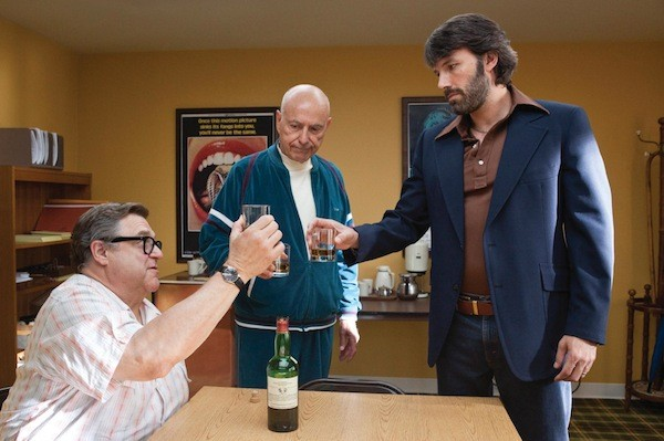 John Goodman, Alan Arkin and Ben Affleck in Argo (Photo: Warner Bros.)