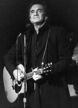 RADOK - Johnny Cash at Spirit Square in 1995