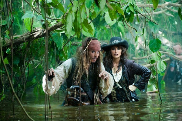 Johnny Depp and Penelope Cruz in Pirates of the Caribbean: On Stranger Tides (Photo: Disney)
