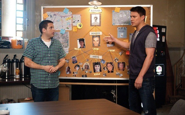 Jonah Hill and Channing Tatum in 21 Jump Street (Photo: Sony)